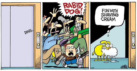 Comic Strip Mike Peters  Mother Goose and Grimm 2012-12-09 rabid
