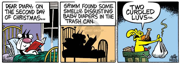Comic Strip Mike Peters  Mother Goose and Grimm 2012-12-13 trash can