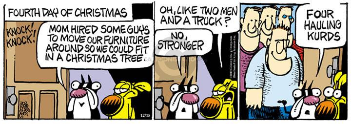 Comic Strip Mike Peters  Mother Goose and Grimm 2012-12-15 furniture