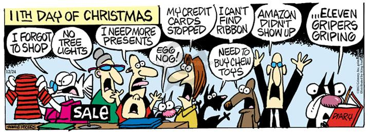 Comic Strip Mike Peters  Mother Goose and Grimm 2012-12-24 online