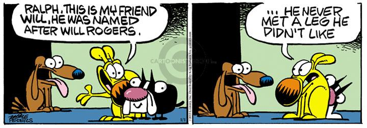 Comic Strip Mike Peters  Mother Goose and Grimm 2013-01-01 personality