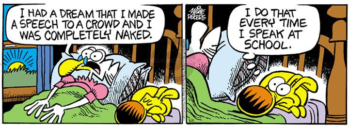 Comic Strip Mike Peters  Mother Goose and Grimm 2013-01-05 dream
