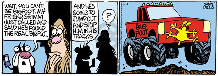 Comic Strip Mike Peters  Mother Goose and Grimm 2013-01-12 track