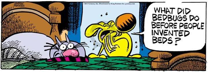 Comic Strip Mike Peters  Mother Goose and Grimm 2013-01-16 fear