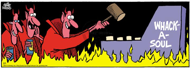 Comic Strip Mike Peters  Mother Goose and Grimm 2013-02-05 afterlife