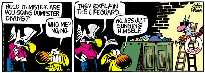 Comic Strip Mike Peters  Mother Goose and Grimm 2013-02-12 public