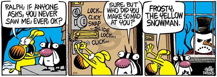 Comic Strip Mike Peters  Mother Goose and Grimm 2013-02-13 yellow