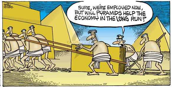 Comic Strip Mike Peters  Mother Goose and Grimm 2013-02-17 Egyptian Pyramid