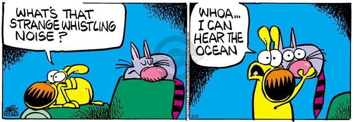 Comic Strip Mike Peters  Mother Goose and Grimm 2013-02-25 whoa