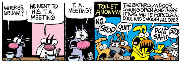 Comic Strip Mike Peters  Mother Goose and Grimm 2013-03-02 drink