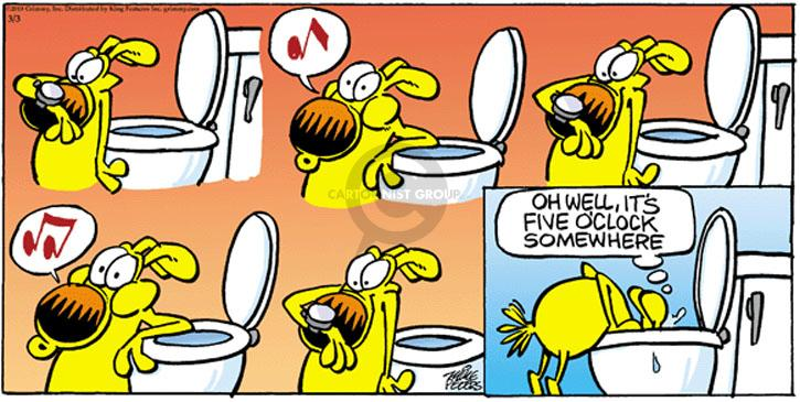 Comic Strip Mike Peters  Mother Goose and Grimm 2013-03-03 happy dog