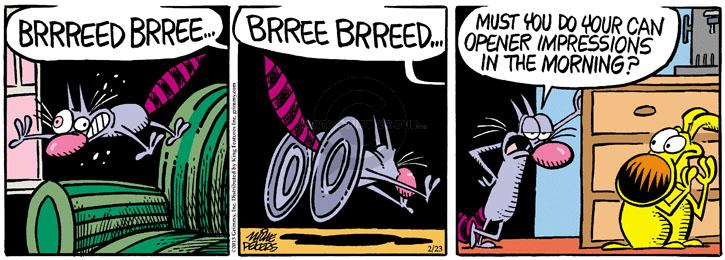 Comic Strip Mike Peters  Mother Goose and Grimm 2013-02-23 cat dog