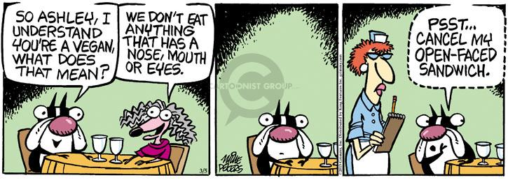Comic Strip Mike Peters  Mother Goose and Grimm 2013-03-05 sandwich