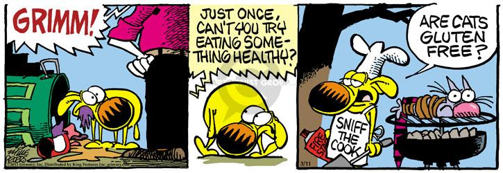Comic Strip Mike Peters  Mother Goose and Grimm 2013-03-11 health