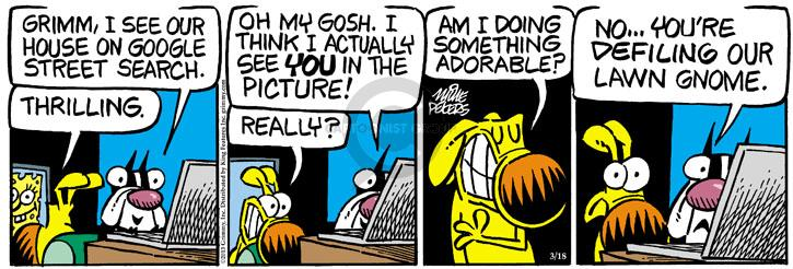 Comic Strip Mike Peters  Mother Goose and Grimm 2013-03-18 street