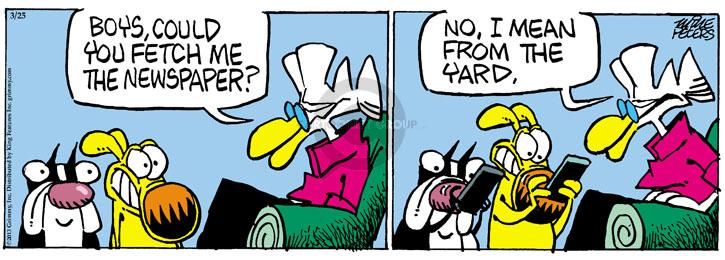 Comic Strip Mike Peters  Mother Goose and Grimm 2013-03-25 online