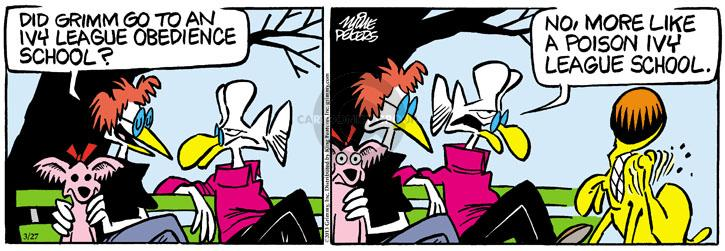 Comic Strip Mike Peters  Mother Goose and Grimm 2013-03-27 poison
