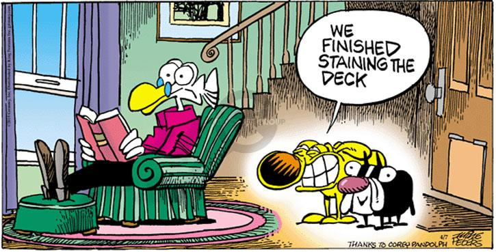 Comic Strip Mike Peters  Mother Goose and Grimm 2013-04-07 finish