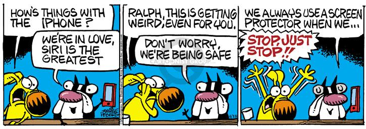 Comic Strip Mike Peters  Mother Goose and Grimm 2013-04-18 Siri