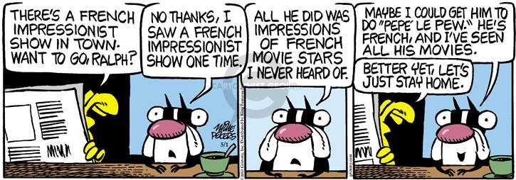 Comic Strip Mike Peters  Mother Goose and Grimm 2013-05-01 movie