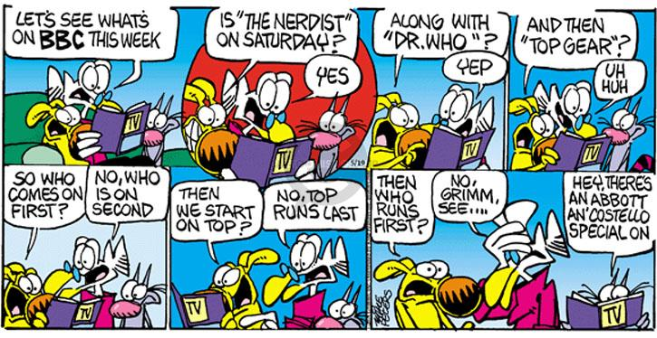 Comic Strip Mike Peters  Mother Goose and Grimm 2012-05-19 yep
