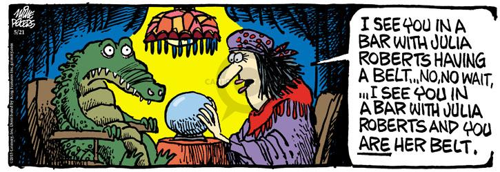 Comic Strip Mike Peters  Mother Goose and Grimm 2013-05-21 prediction