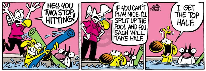 Comic Strip Mike Peters  Mother Goose and Grimm 2013-06-13 half