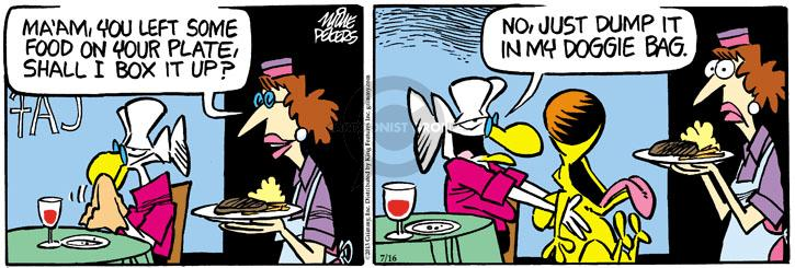 Comic Strip Mike Peters  Mother Goose and Grimm 2013-07-16 doggie