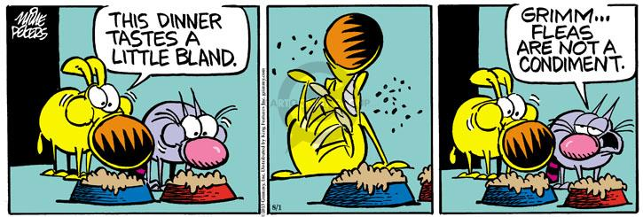 Comic Strip Mike Peters  Mother Goose and Grimm 2013-08-01 food ingredient
