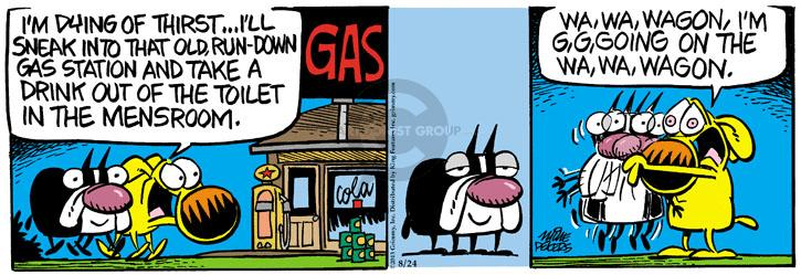 Comic Strip Mike Peters  Mother Goose and Grimm 2013-08-24 addiction