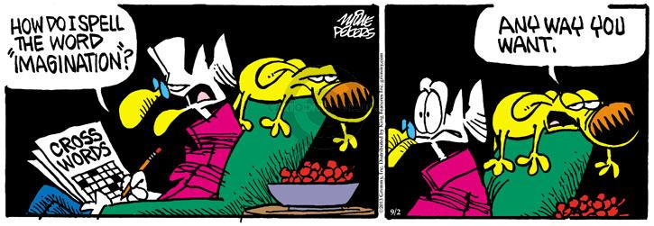 Comic Strip Mike Peters  Mother Goose and Grimm 2013-09-02 imagination