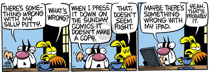 Comic Strip Mike Peters  Mother Goose and Grimm 2013-09-05 toy