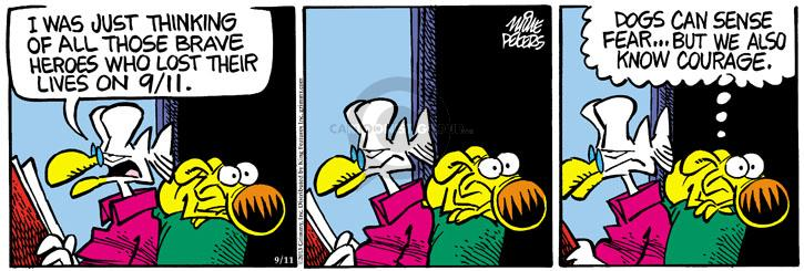 Comic Strip Mike Peters  Mother Goose and Grimm 2013-09-11 fear