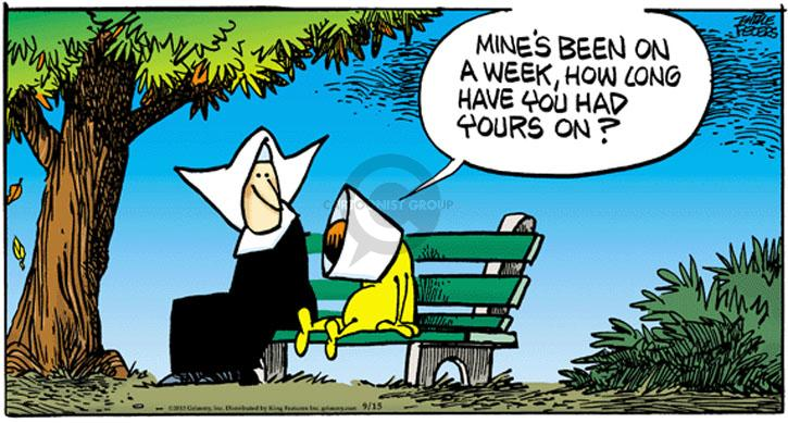 Comic Strip Mike Peters  Mother Goose and Grimm 2013-09-15 mine