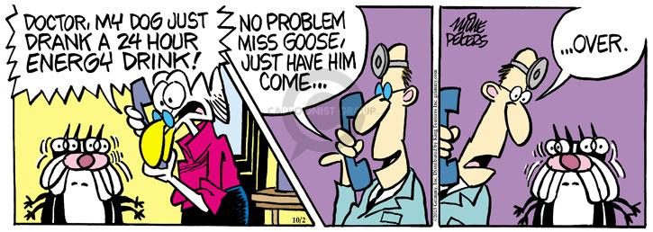 Comic Strip Mike Peters  Mother Goose and Grimm 2013-10-02 awake