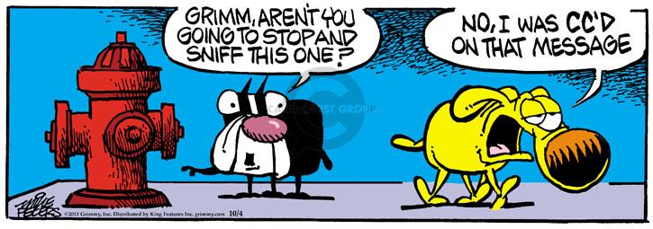 Comic Strip Mike Peters  Mother Goose and Grimm 2013-10-04 aren't