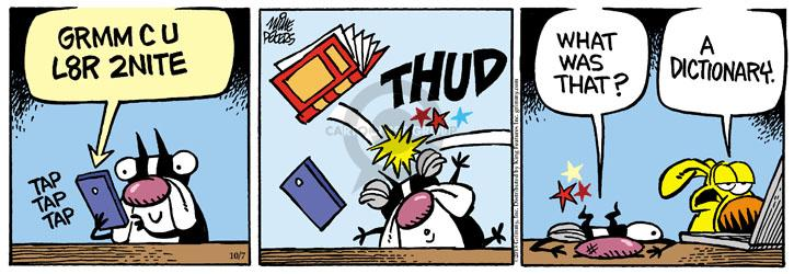 Comic Strip Mike Peters  Mother Goose and Grimm 2013-10-07 tap