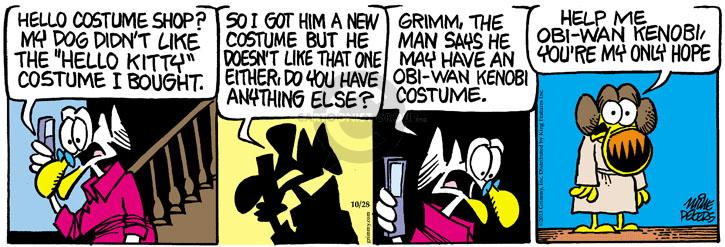 Comic Strip Mike Peters  Mother Goose and Grimm 2013-10-28 hope