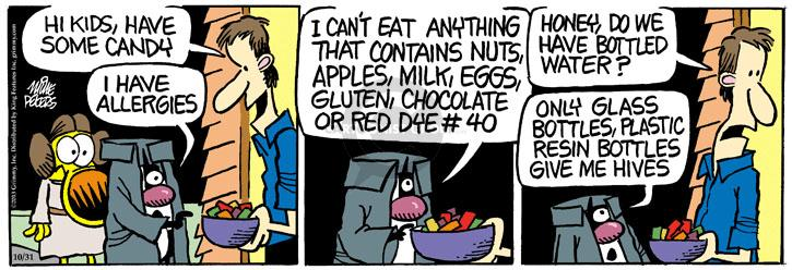 Comic Strip Mike Peters  Mother Goose and Grimm 2013-10-31 food