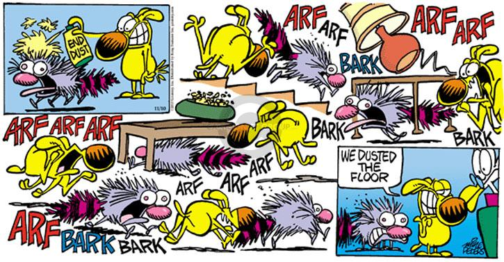 Comic Strip Mike Peters  Mother Goose and Grimm 2013-11-10 cat dog