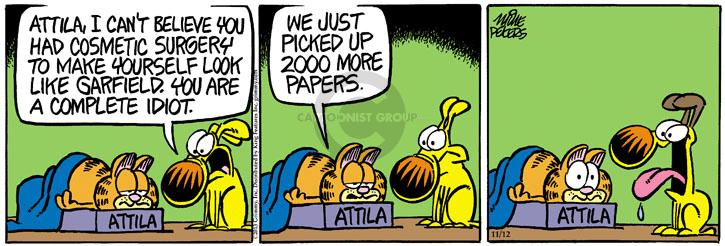 Comic Strip Mike Peters  Mother Goose and Grimm 2013-11-12 2000
