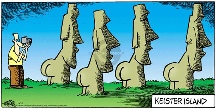 Comic Strip Mike Peters  Mother Goose and Grimm 2013-11-17 Easter Island