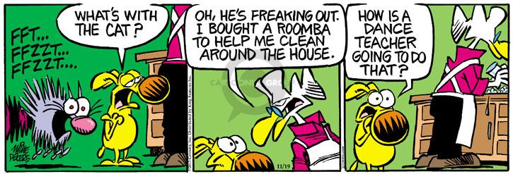 Comic Strip Mike Peters  Mother Goose and Grimm 2013-11-19 appliance