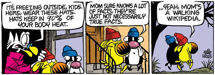 Comic Strip Mike Peters  Mother Goose and Grimm 2013-11-30 cold outside