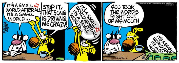Comic Strip Mike Peters  Mother Goose and Grimm 2013-12-02 mouth