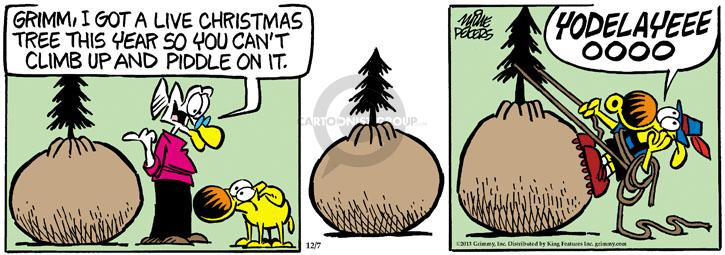 Comic Strip Mike Peters  Mother Goose and Grimm 2013-12-07 real