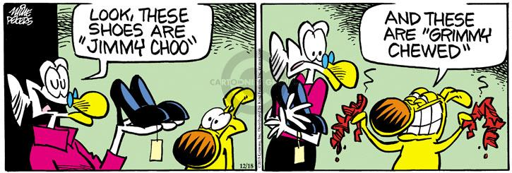 Comic Strip Mike Peters  Mother Goose and Grimm 2013-12-18 brand