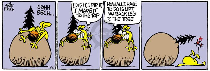 Comic Strip Mike Peters  Mother Goose and Grimm 2013-12-20 lift