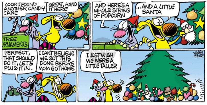 Comic Strip Mike Peters  Mother Goose and Grimm 2013-12-22 candy