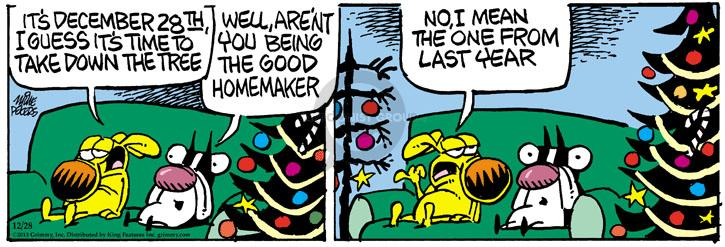 Comic Strip Mike Peters  Mother Goose and Grimm 2013-12-28 December